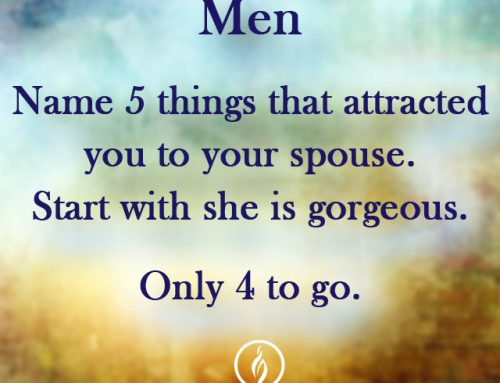 NAME 5 THINGS THAT ATTRACTED YOU TO YOUR SPOUSE